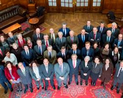 Constitució de la nova Academia de Ciencias Médicas y de la Salud del País Vasco