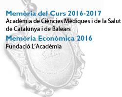 Memòria Corporativa curs 2016-2017 de l'Acadèmia