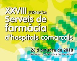 XXVIII Jornada de Serveis de Farmàcia d'Hospitals Comarcals